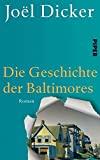 Joel Dicker: Die Geschichte der Baltimores
