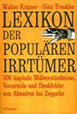 Walter Krämer, Götz Trenkler: Lexikon der populären Irrtümer