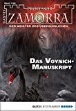 Christian Schwarz: Professor Zamorra - Folge 1105: Das Voynich-Manuskript